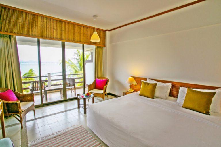 Rayong Resort : Deluxe Seaview Room