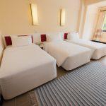 Rayong Resort : Deluxe Triple Seaview Room – Modern Interior