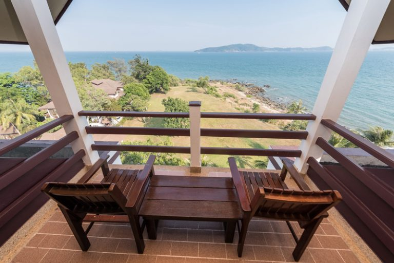 Rayong Resort : Junior Suite Seaview