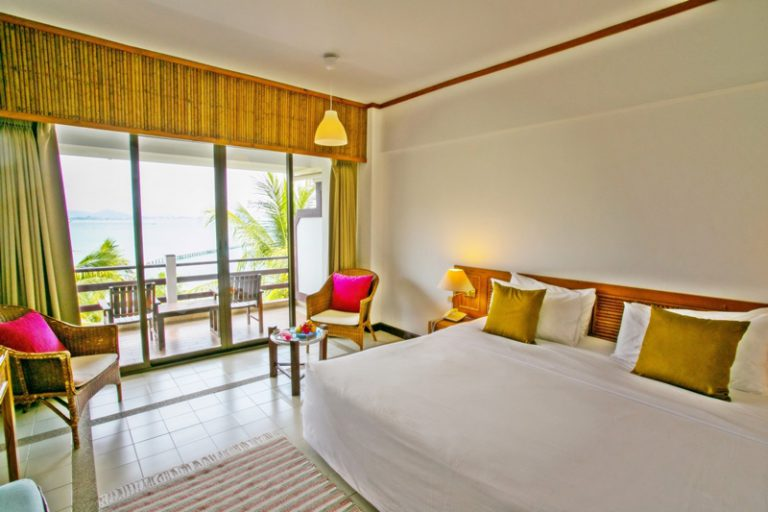 Rayong Resort : Deluxe Seaview Room